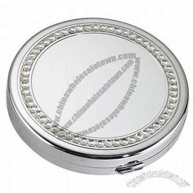 Premium Crystalized Mirror Compact Case