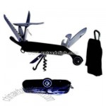 Premium knife and compass with carabiner