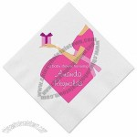 Presenting - Pink Baby Shower Napkins