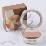 Press Compact Face Powder, 3-color Together for Contour and Highlight