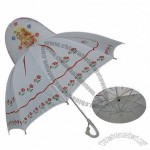 Princess Children's Umbrellas, Plastic Handle