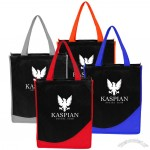 Printed Accent Non-Woven Polypropylene Tote Bags