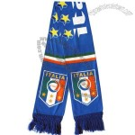 Printed Italy Football Fans Scarf
