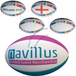 Printed Mini Rugby Balls