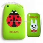 Printing Logo Silicone Phone Case for iPhone 3G