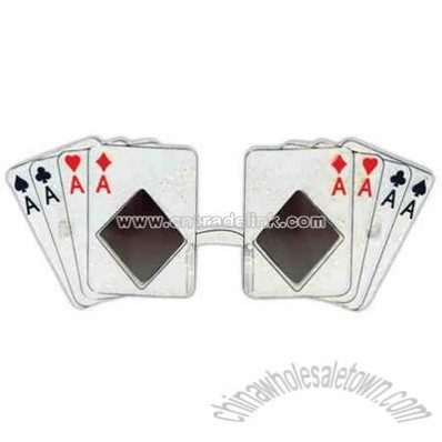Prismatic playing card sunglasses