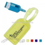 Privacy Bag Tag With Secure Closure