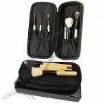 Professional 6pcs Goat Hair Mini Travel Makeup Brush Set