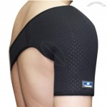 Professional 75%Synthetic Rubber, 25%Elastic Nylon Sports Shoulder Support