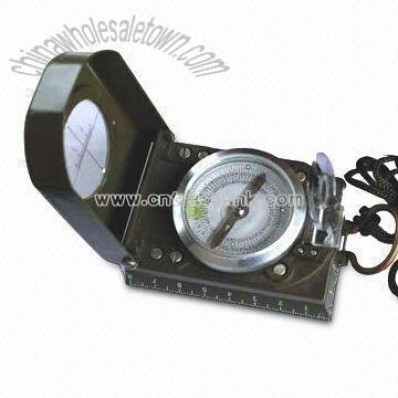 Professional Compass with Degree Magnifier
