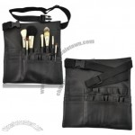 Professional Make Up Brushes Belt Tool Pocket Pu Leather Bag