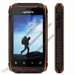 Professional Outdoor IP67 Waterproof Mobile Phones with 2,350mAh Li-ion Battery