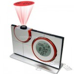 Projection Alarm Clock with Torch