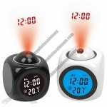 Projection Clock with Talking Function