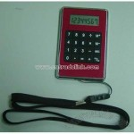 Promotion Gift Rope Calculator with PVC Pough in Back
