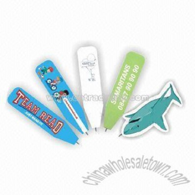 Promotional Bookmark Pen