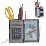 Promotional Calculator with Pen Holder Radio