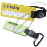 Promotional Carabiner Calculator with Compass