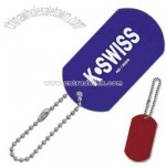 Promotional Colored Anodized Aluminum Dog Tag Key Tag