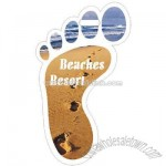 Promotional Foot Shape Bag Tag