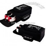 Promotional Golf shoe bag with large main compartment for shoes.