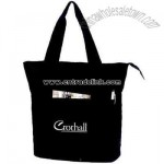 Promotional Large Recycled Zippered Tote Bag