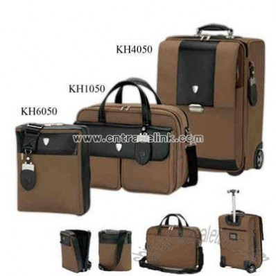 Promotional Light Brown Trolley Case