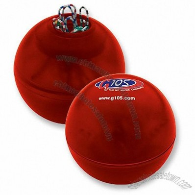 Promotional Logo Clip Dispenser Ball