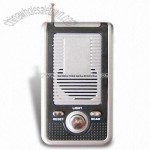 Promotional Novelty Portable Radio with LED Light and Speaker