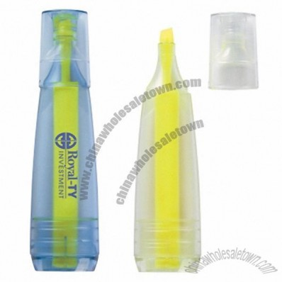 Promotional Oasis Recycled Bottle Stubby Highlighter Pen