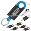 Promotional Security Pull-a-part Key Tag With Easy Release Hook