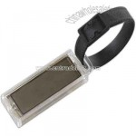 Promotional Solar Powered Flashing Logo Luggage Tag