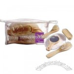 Promotional Spa Set With Natural Wood Handles