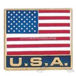 Promotional Usa - Stock Patriotic Design Lapel Pin