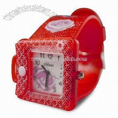 Promotional Waterproof Plastic Children's Watch
