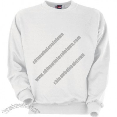 Promotional White Classic Sweaters
