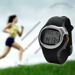 Pulse Rate Calorie Monitor Watch Pedometer