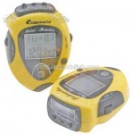 Pulse monitor and pedometer