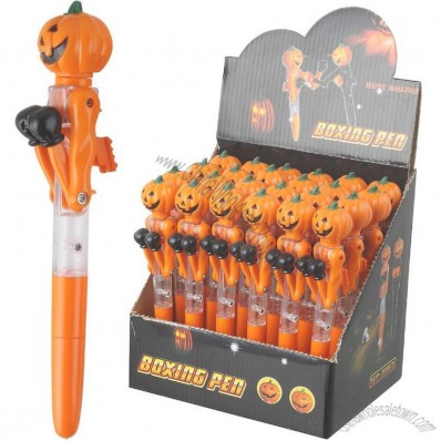 Pumpkin Boxing Pen with LED Falsh