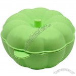 Pumpkin Shape Silicone Bowl with Lid for Steamer and Cooker