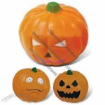 Pumpkin Stress Ball with Keychain