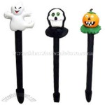 Pumpkin-head Halloween ball pen