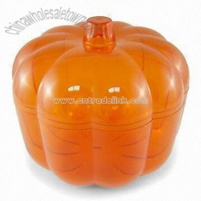 Pumpkin-shaped Container