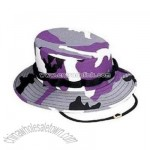Purple Camouflage Jungle Hat