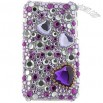 Purple Diamond Rhinestone Case for iPhone 3G / iPhone 3GS