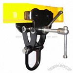 Push Trolley Clamp with Shackle TCSP type