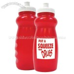 Put A Squeeze On Drugs Water Bottle
