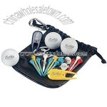 Putter's Pouch with NDX Heat Golf Balls