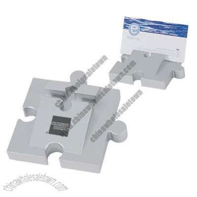 Puzzle Piece Connectable Business Card Holder