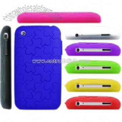 Puzzle Silicone iPhone 3G Case / iPHone 3GS Case